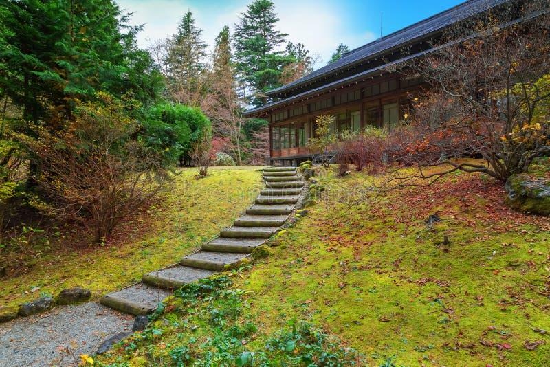 Tamozawa imperialistisk villa i Nikko, Japan fotografering för bildbyråer