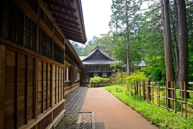 Tamozawa imperialistisk villa, Nikko, Japan arkivfoton