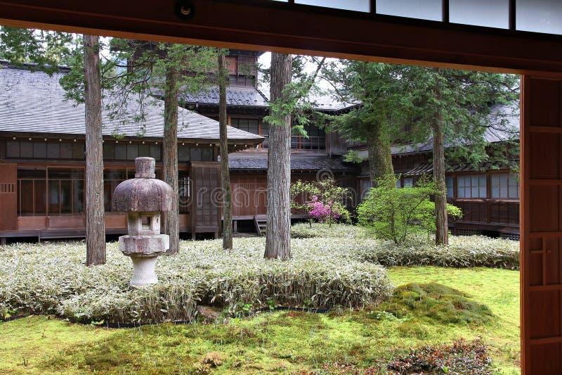 Tamozawa villa, Nikko royaltyfri bild