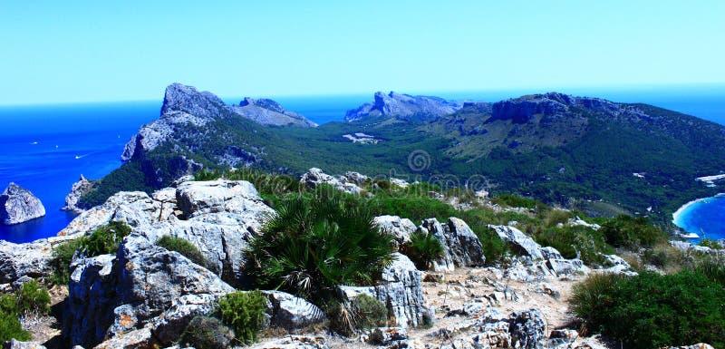 Tampão de Formentor fotografia de stock royalty free