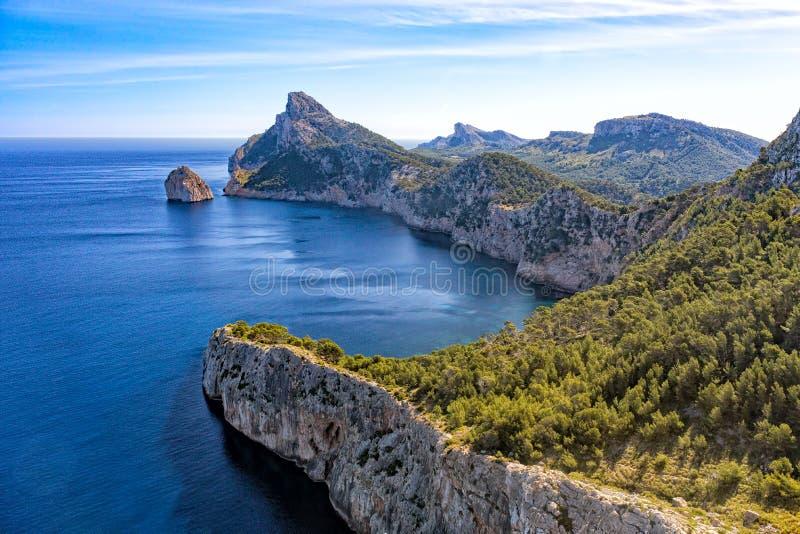 Tampão de Formentor, Mallorca imagens de stock royalty free