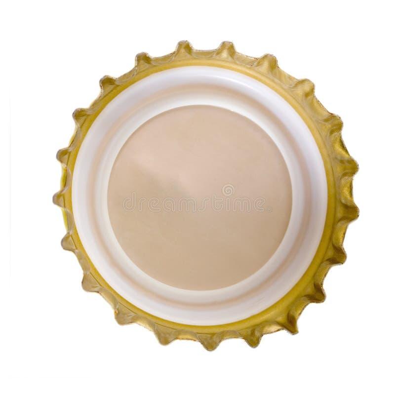 Tampão de frasco da cerveja foto de stock