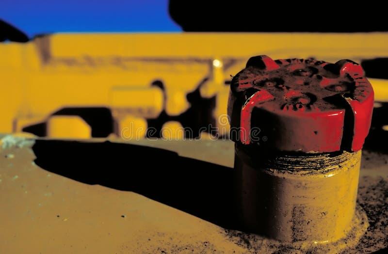 Tampão De Gás Vermelho Foto de Stock