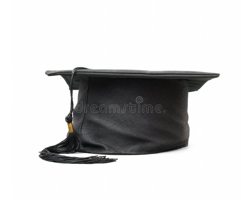 Tampão graduado isolado no fundo branco imagem de stock royalty free