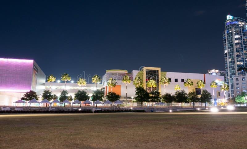 Tampa śródmieścia muzeum zdjęcia royalty free