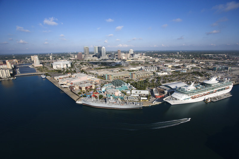 Tampa Bay Area. royalty free stock images
