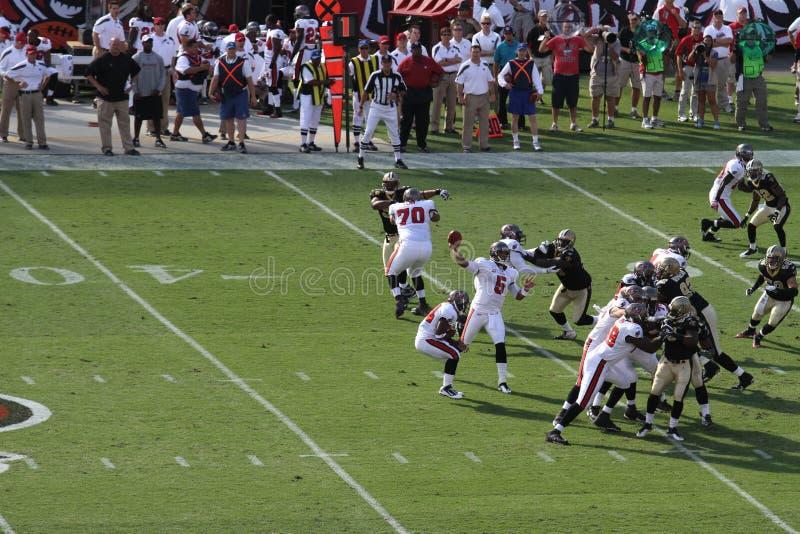 Tampa Bay contro New Orleans immagine stock