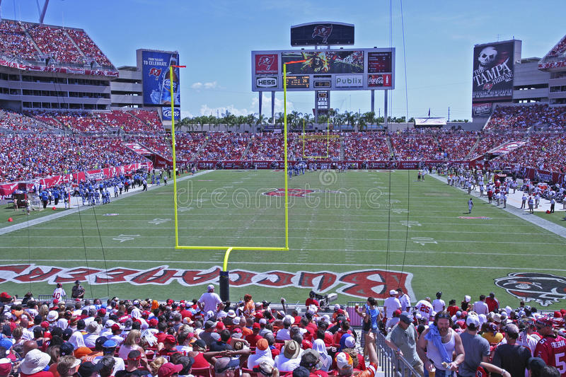Tampa Bay gegen Detroit stockfoto