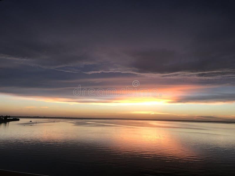 Tampa Bay Sunset royalty free stock image