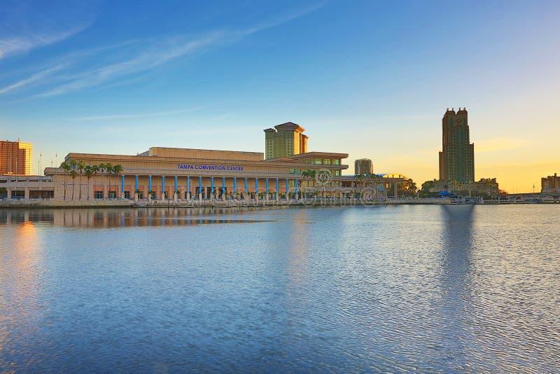 Tampa convention center fotografia royalty free