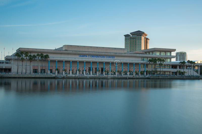 Tampa Convention Center image libre de droits