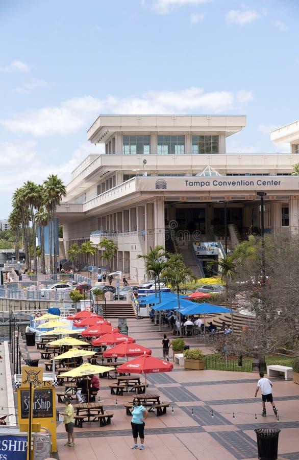 Tampa convention center Floryda usa obraz royalty free