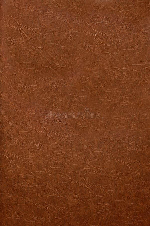 Tampa de livro de couro vermelha fotografia de stock