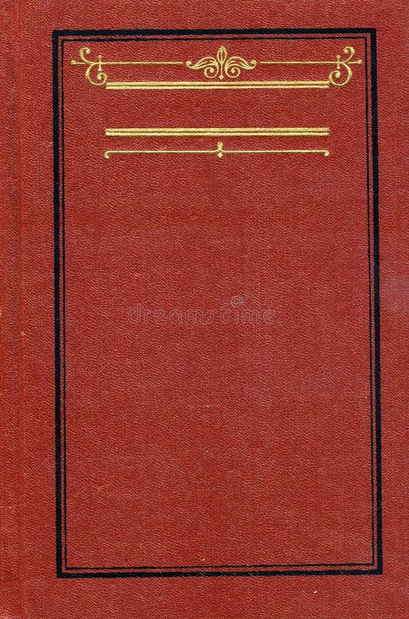 Tampa de livro do vintage fotos de stock
