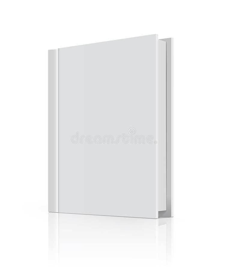 Tampa de livro em branco ilustração stock