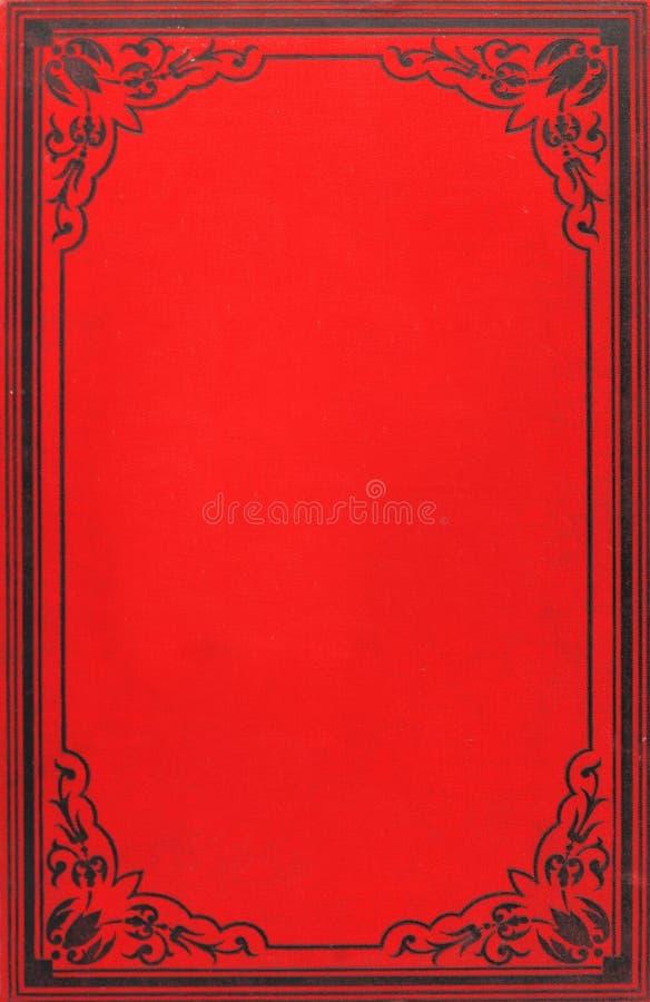 Tampa de livro velho fotografia de stock royalty free