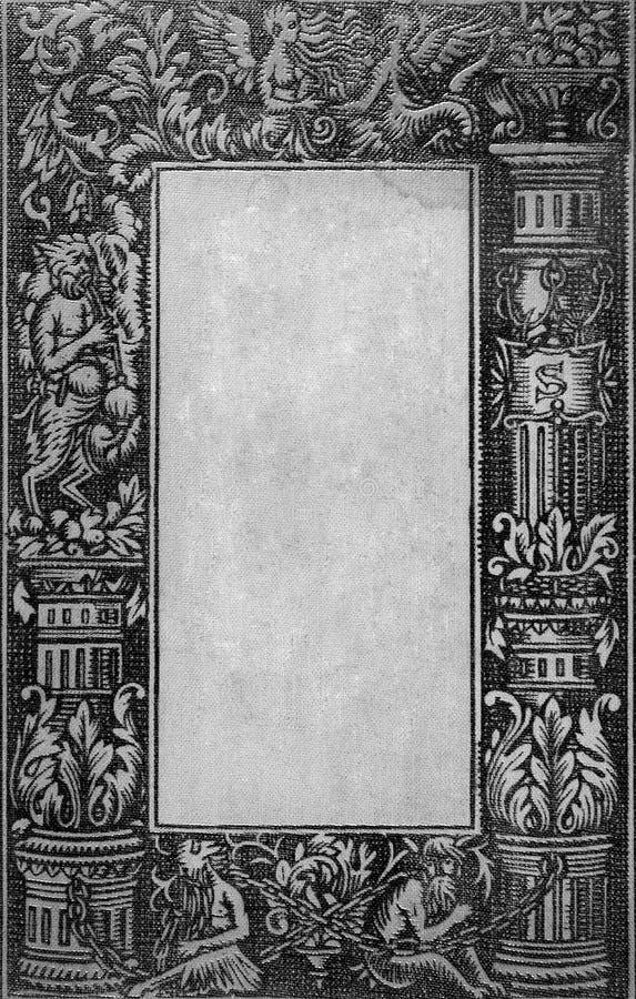 Tampa de livro velho imagens de stock royalty free