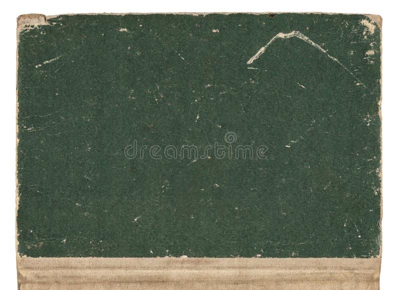 Tampa de livro velho imagem de stock