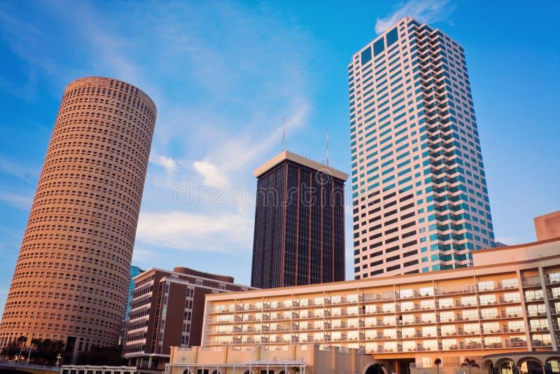 Tampa del centro fotografia stock libera da diritti