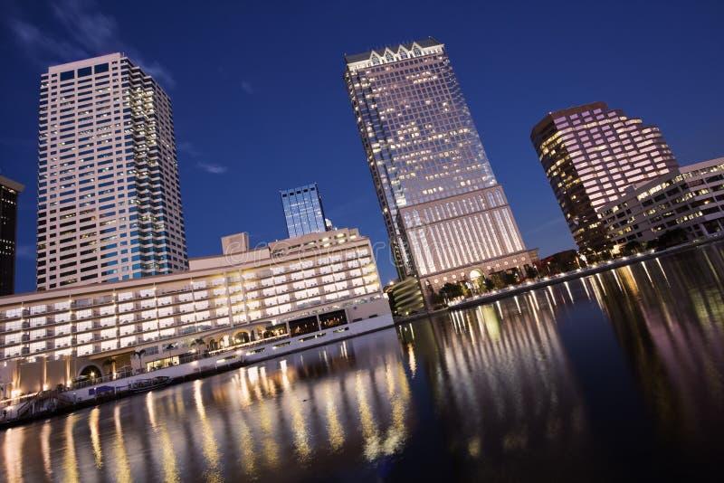 Tampa del centro immagine stock