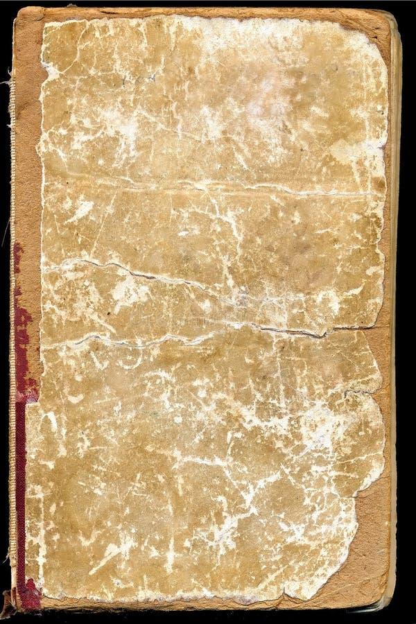 Tampa do livro velho imagens de stock royalty free