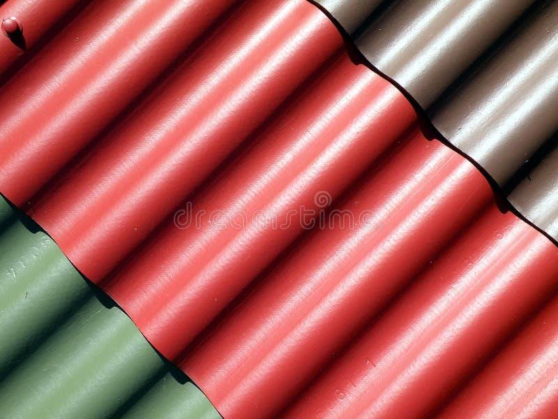 Tampa do telhado imagem de stock