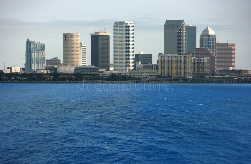 Download Tampa downtown stock photo. Image of business, urban, street - 4492358