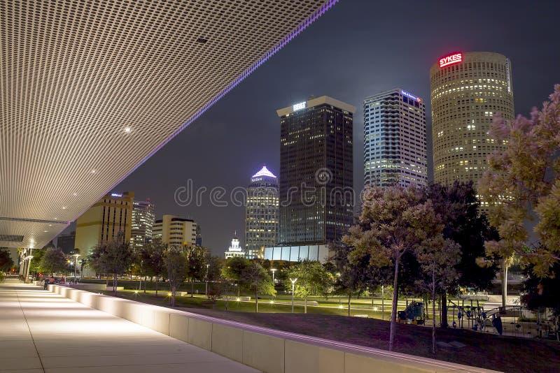 Tampa du centre image stock