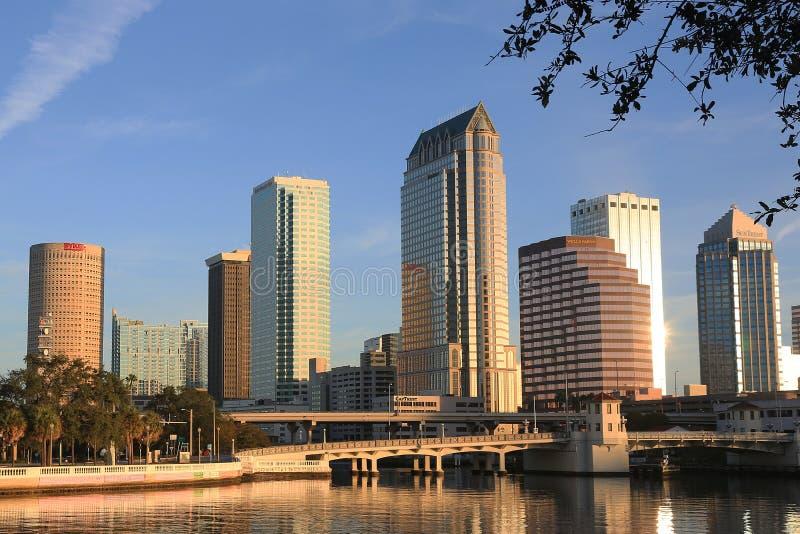 Tampa du centre, la Floride photo stock