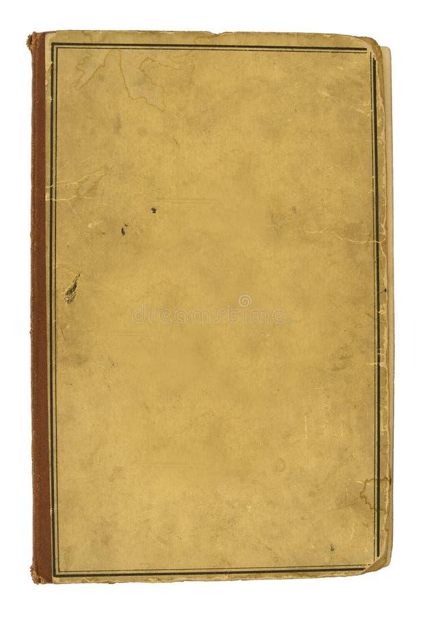 Tampa em branco do livro velho fotos de stock royalty free