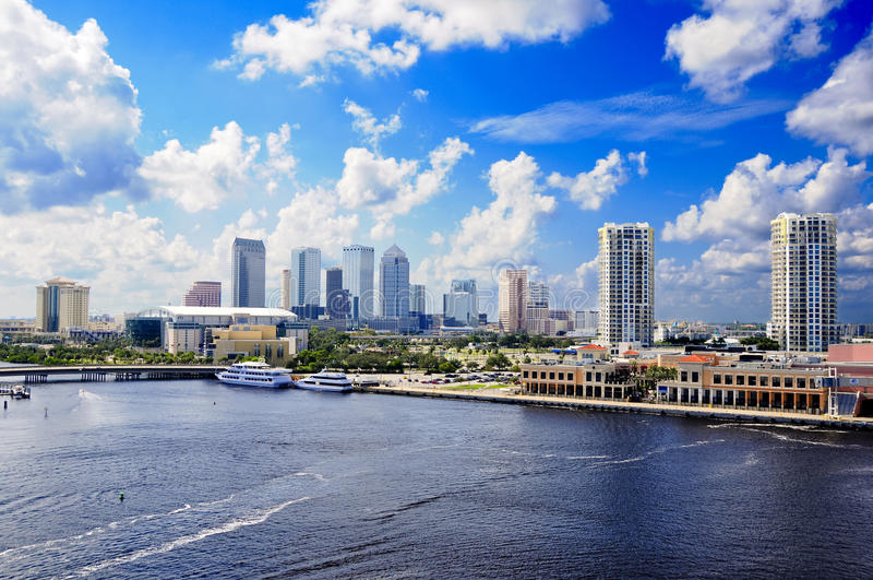 Tampa Florida fotografia stock