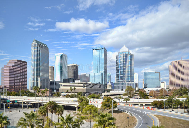 Tampa, Florida royalty free stock photo