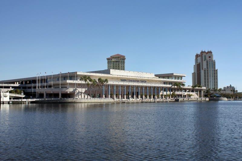 Tampa Florida konventcentrum arkivbild
