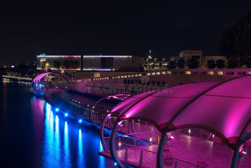Tampa Florida Riverwalk fotografia stock