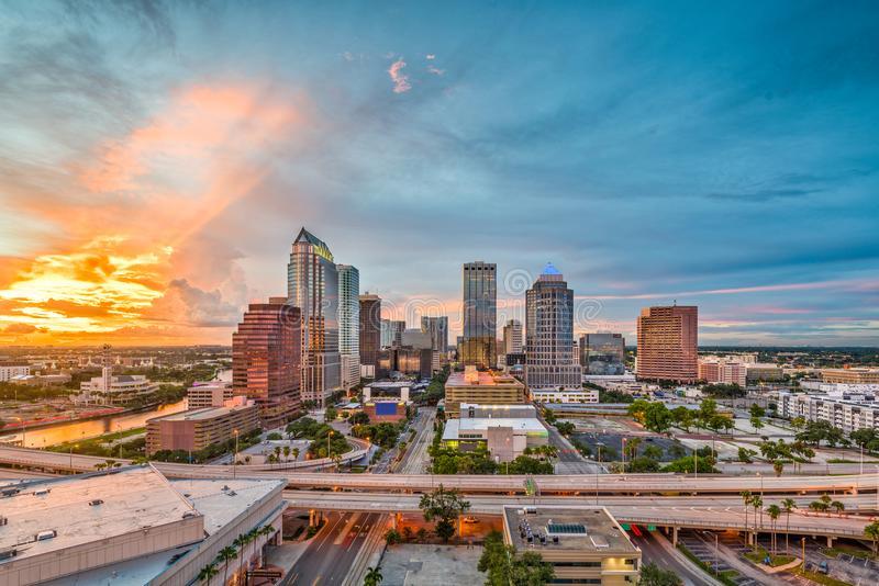 Tampa, Florida, USA royalty free stock image