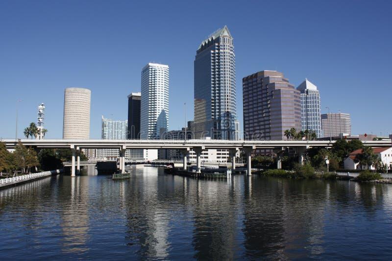 Tampa Floryda linia horyzontu obraz stock