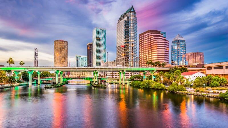 Tampa, Floryda, usa obrazy royalty free