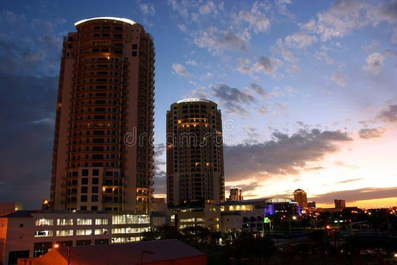 Tampa florydy obrazy royalty free