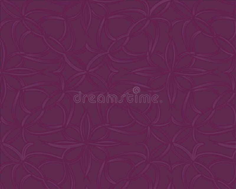 Tampa fluida do cartaz com cor ultravioleta moderna Molde geométrico abstrato roxo escuro ilustração royalty free