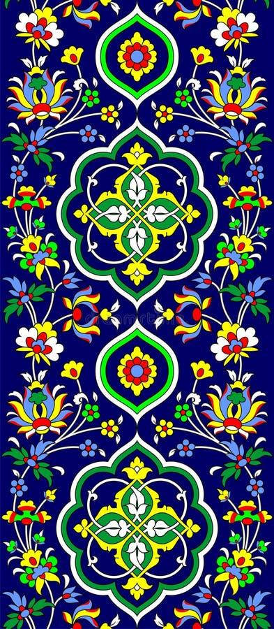 Tampa islâmica ilustração stock