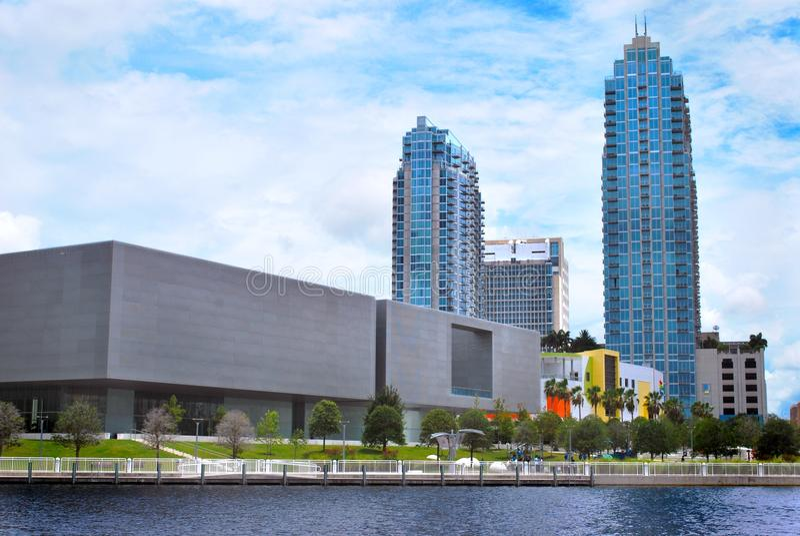 Tampa konstmuseum royaltyfria bilder