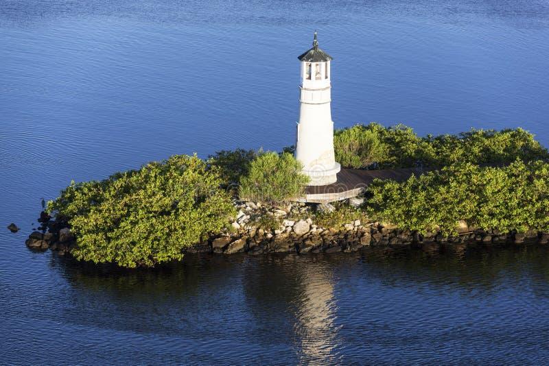 Tampa latarnia morska fotografia royalty free