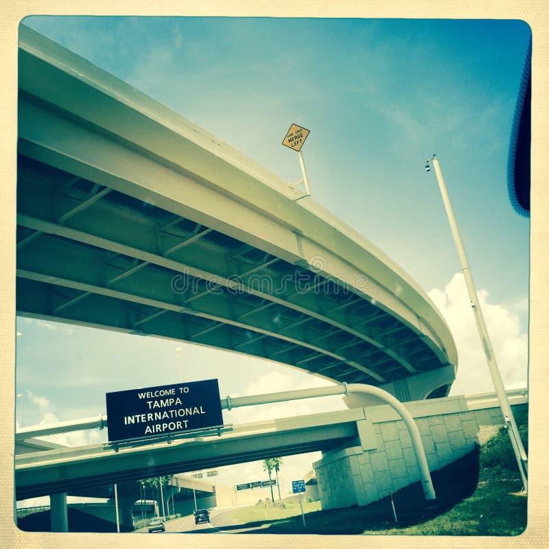 Tampa lotnisko międzynarodowe, Floryda obraz royalty free