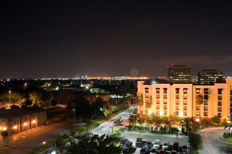 Tampa Night Scape stock photos