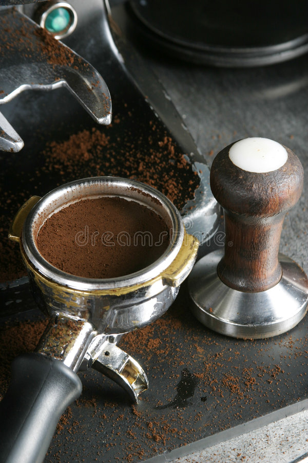 Free Tamped Espresso Bayonet Stock Photos - 329043