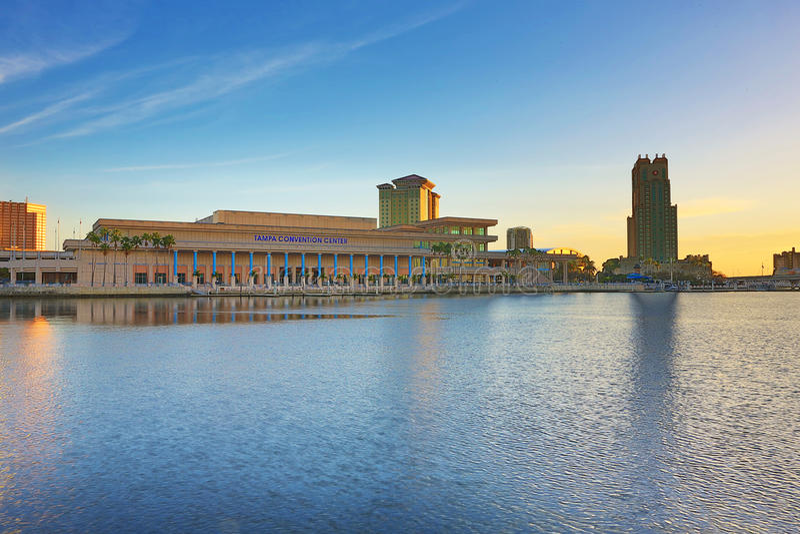 Tamper Convention Center royalty-vrije stock fotografie