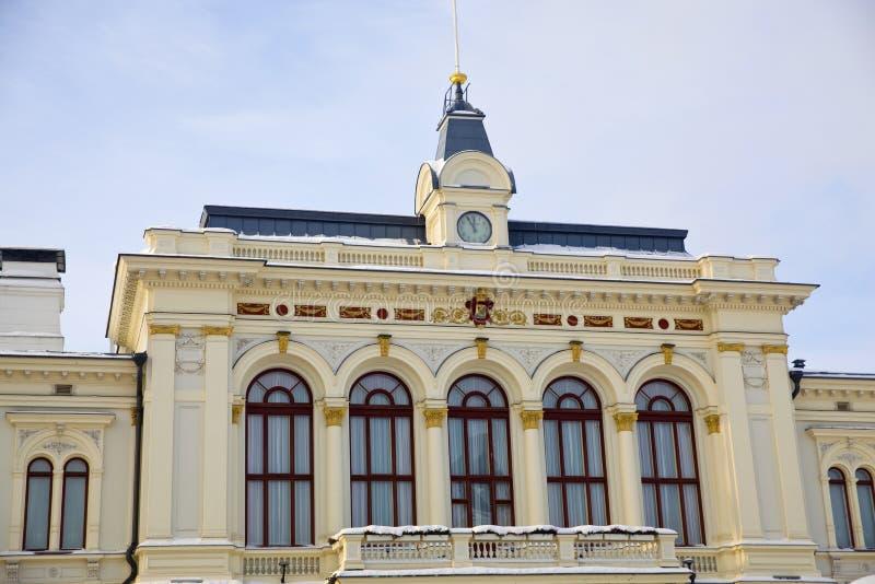 Tampere-altes Rathaus stockbild