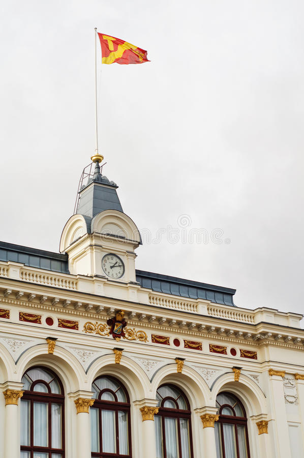 Download Tampere City Hall stock image. Image of detail, style - 27045627