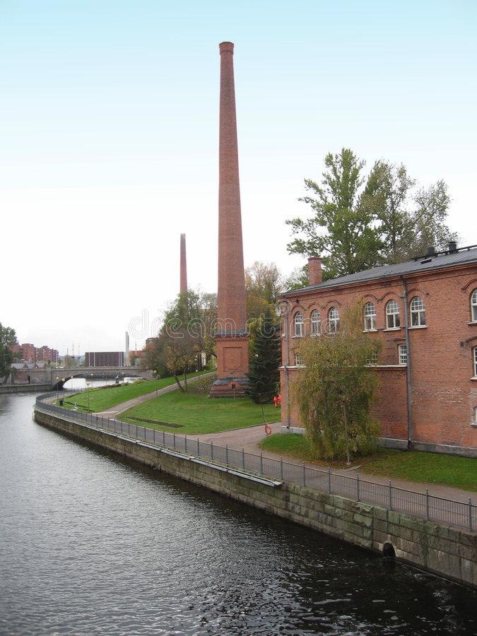 Download Tampere, Finland stock image. Image of historical, industry - 3432681