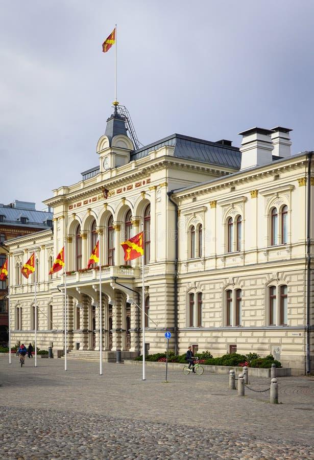 tampere townhall royaltyfria bilder